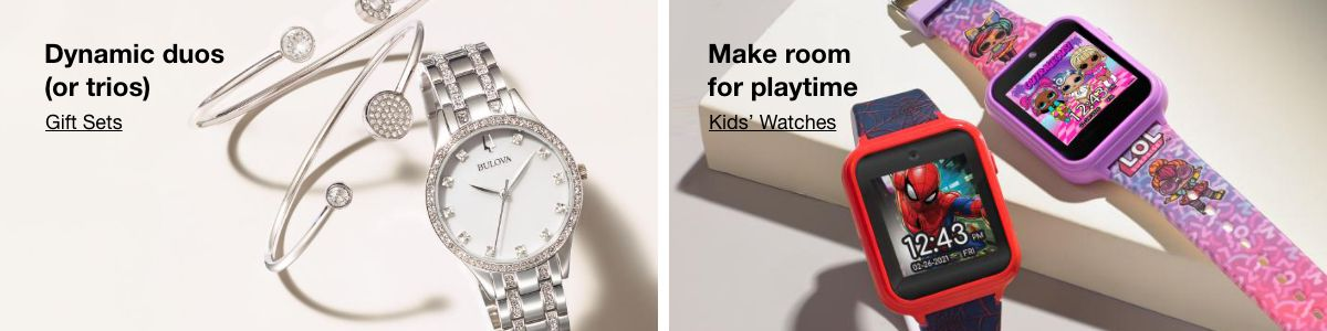 Dynamic duos (or trios), Gift Sets, Make room for playtime, Kids' Watches