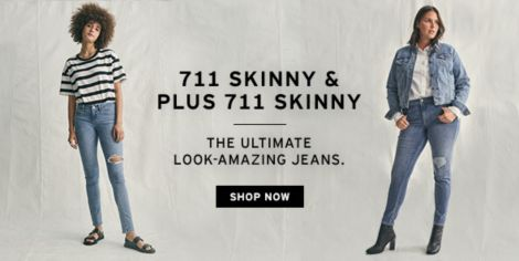 b6d437fe88 Live in Levi s. 711 Skinny and Plus 711 Skinny