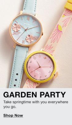 Garden Party, Take springtime with you everywhere you go, Shop Now