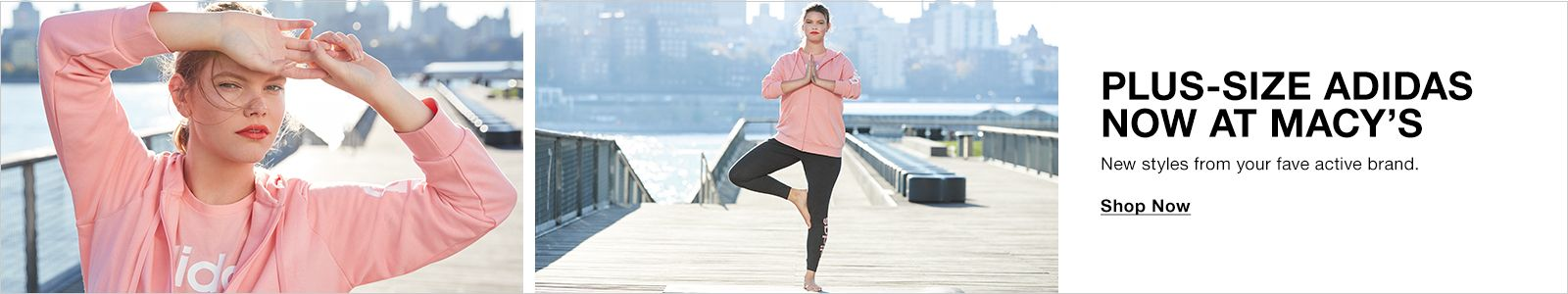 Plus-Size Adidas Now at Macy's, New styles from your fave active brand, Shop Now