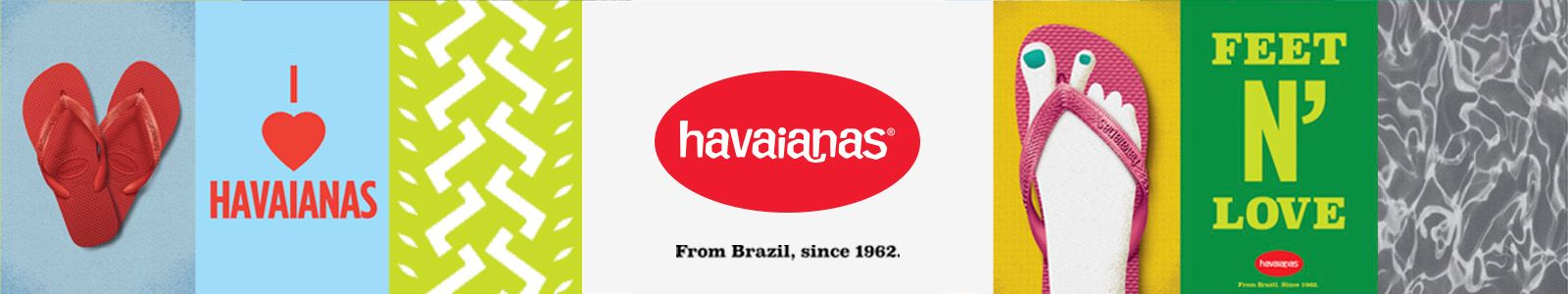 havaianas, From Brazil, since 1962, Feet n' Love