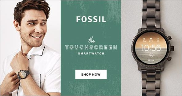 Fossil, the Touchscreen Smart Watch, Shop Now