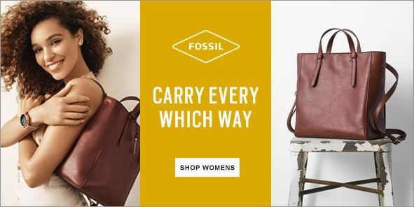 Fossil, Carry every Which Way, Shop Womens