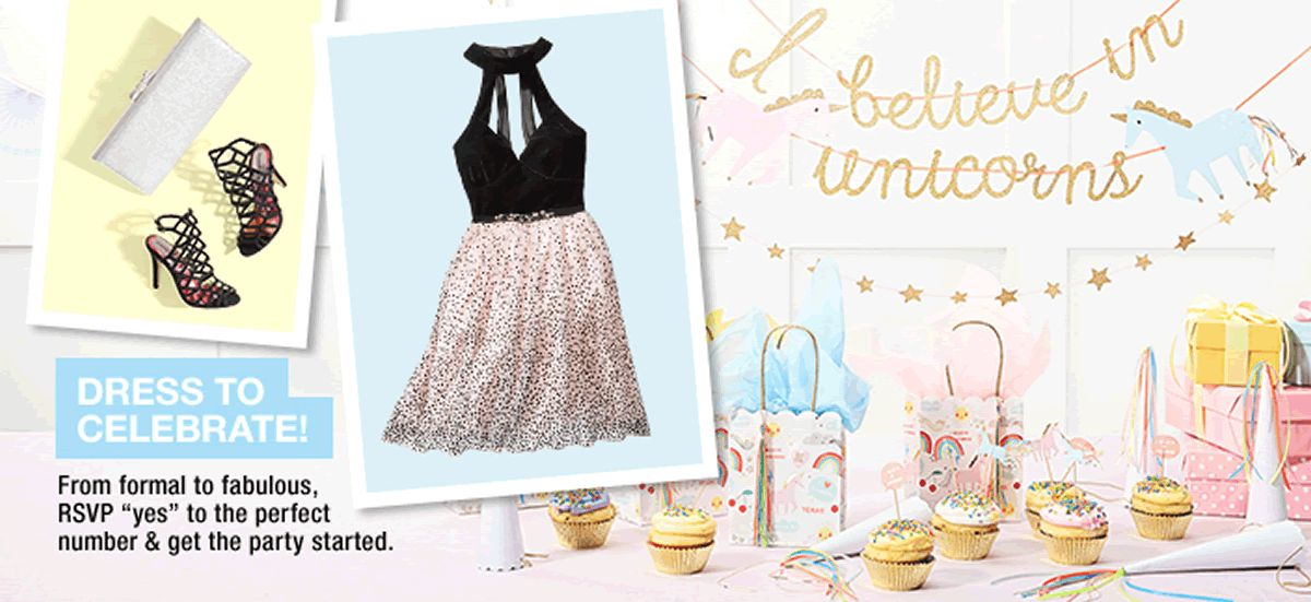 Dress To Celebrate From Formal Fabulous RSVP Yes The Perfect Birthday