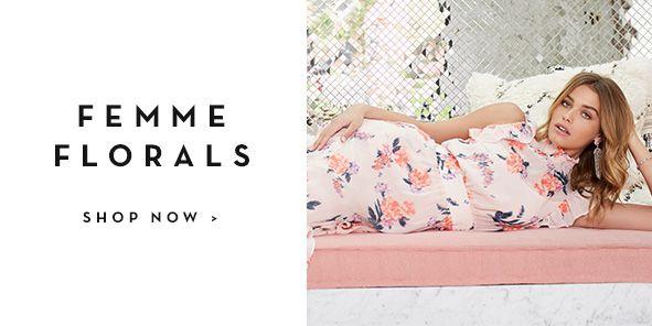 Femme Florals, Shop Now