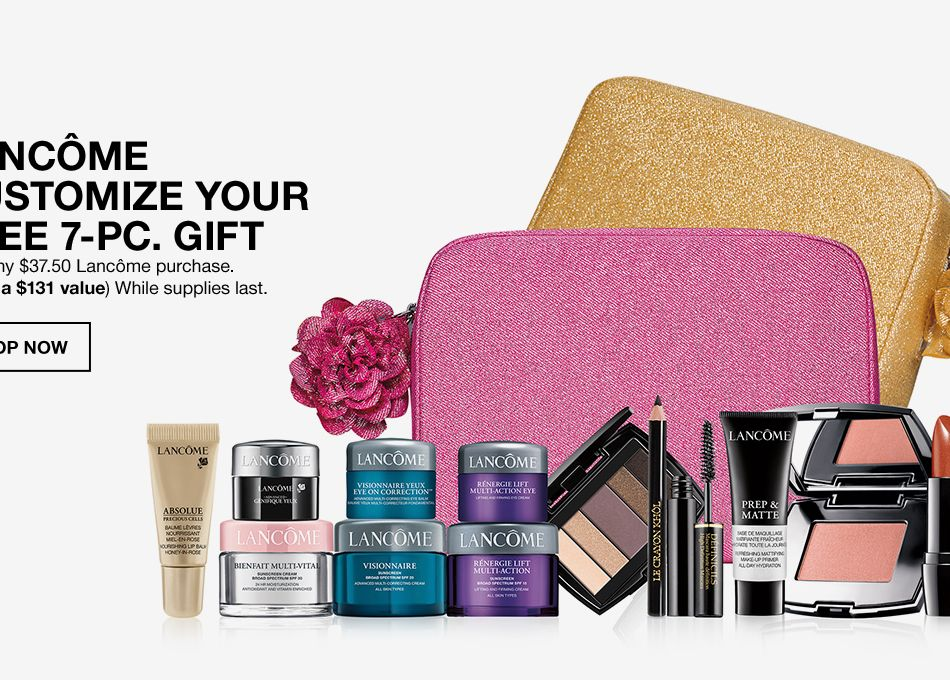 Lancome Customize Your Free 7-Piece Gift, With any  37.50 Lancome purchase,  ( e914eff3077