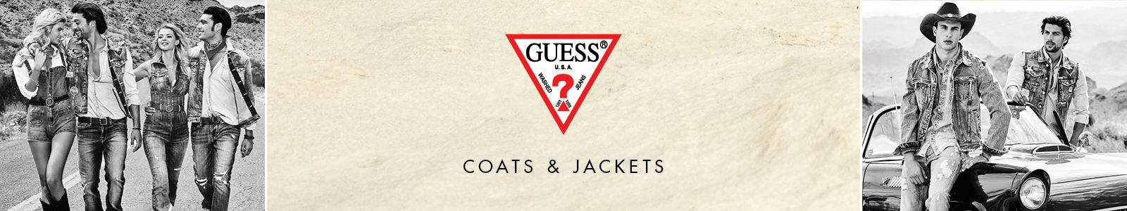 Guess, Coats and Jackets