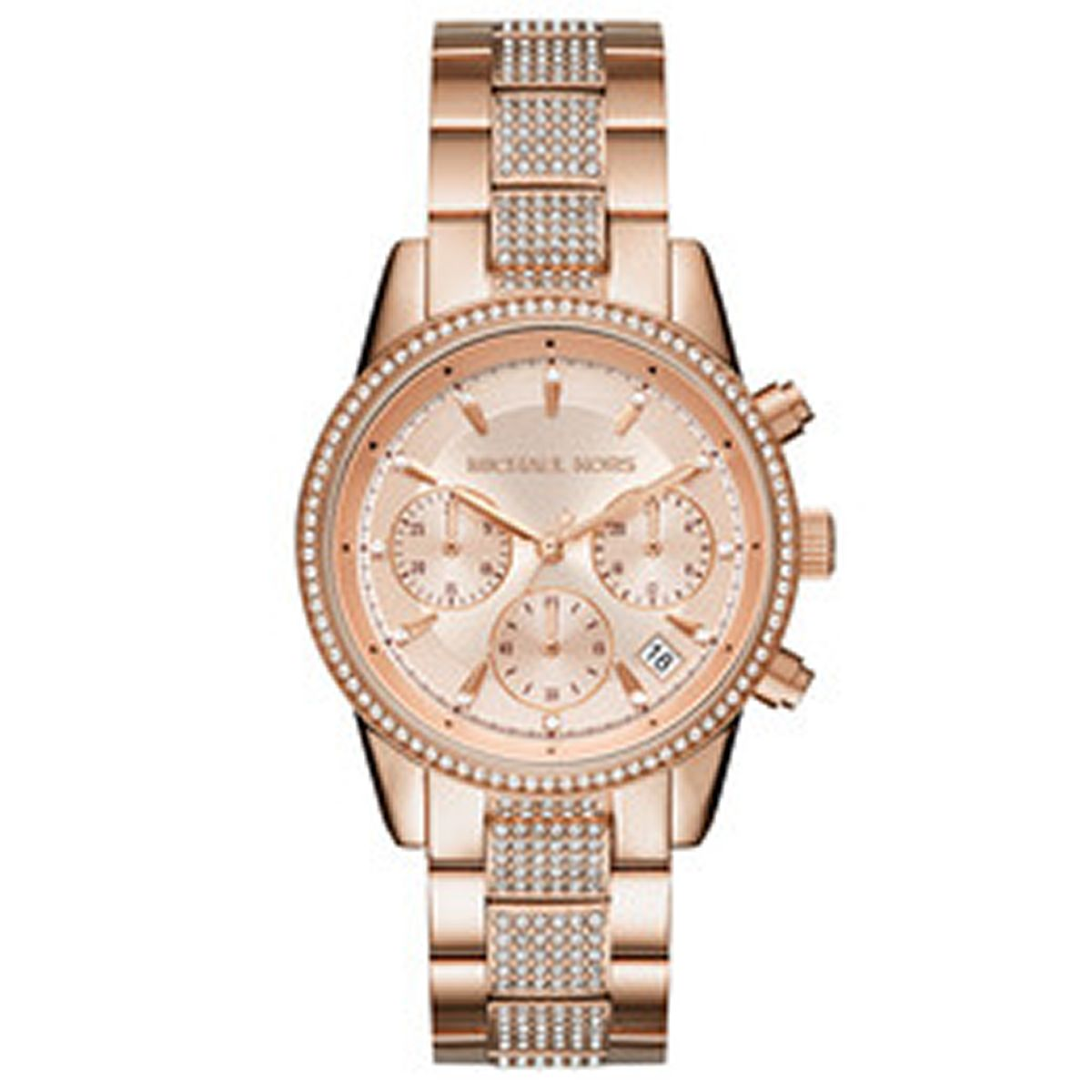 297b9493e45a Rose-Gold Michael Kors Watches - Macy s