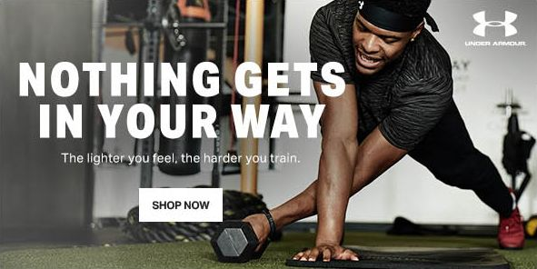 Nothing Gets in Your Way, The lighter you feel, the harder you train, Shop Now