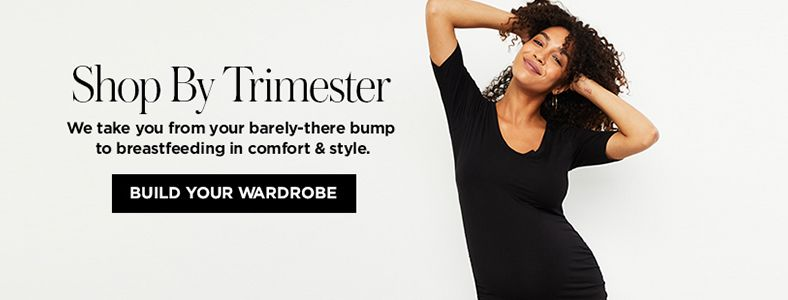 Shop By Trimester, Built Your Wardrobe