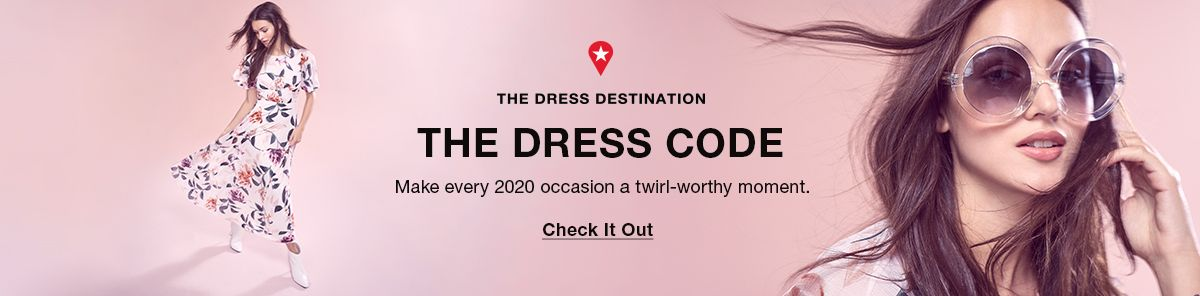 The Dress Destination, The Dress Code, Make every 2020 occasion a twirl-worthy moment, Check It Out