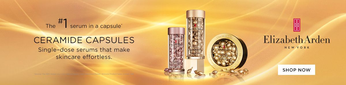 Ceramide Capsules, Single-dose serums that make skincare effortless, Elizabeth Arden, New York, Shop Now