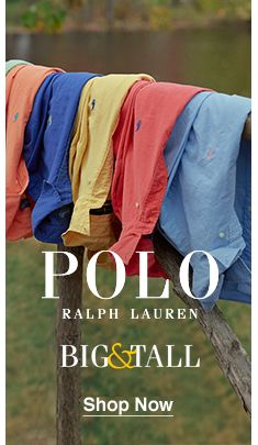 Polo, Ralph, Big and tall, Shop Now