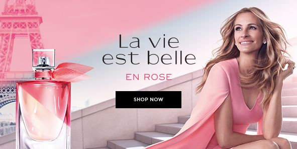 La Vie Est Belle, en Rose, Shop Now