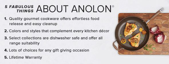 5 Fabulous Thing About Anolon
