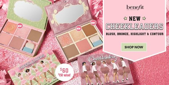Benefit, New Cheekleaders, Blush, Bronze, Highlight and Contour, Shop Now