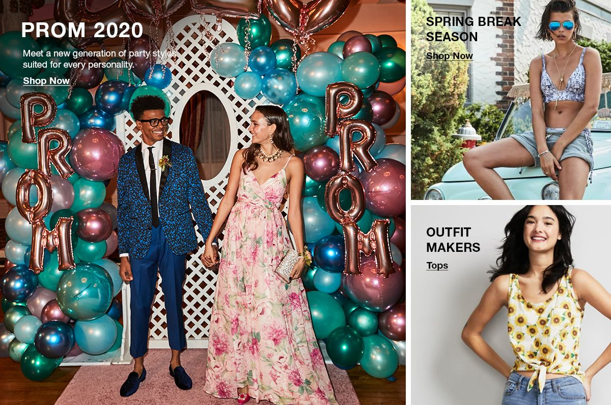 Prom 2020, Shop Now, Spring Break Season, Shop Now, Outfit Makers, Tops
