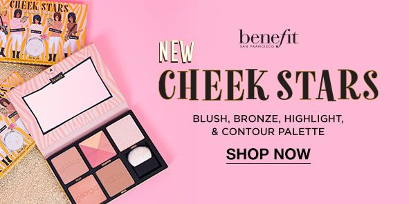 Benefit, New Cheek Stars, Blush, Bronze, Highlight and Contour Palette, Shop Now