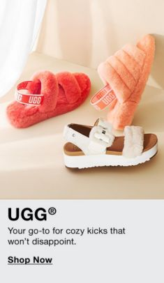 Ugg, Your go-to for cozy kicks that won't disappoint, Shop Now