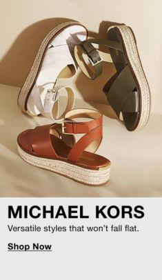 Michael Kors, Versatile styles that won't fall flat, Shop Now