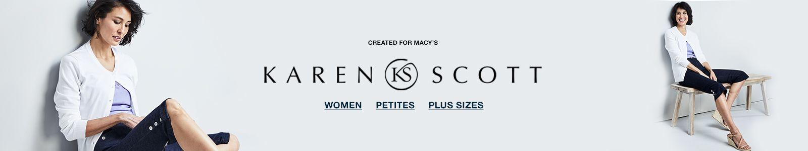 Created For Macy's, Karen Scott, Women Petites, Plus Sizes