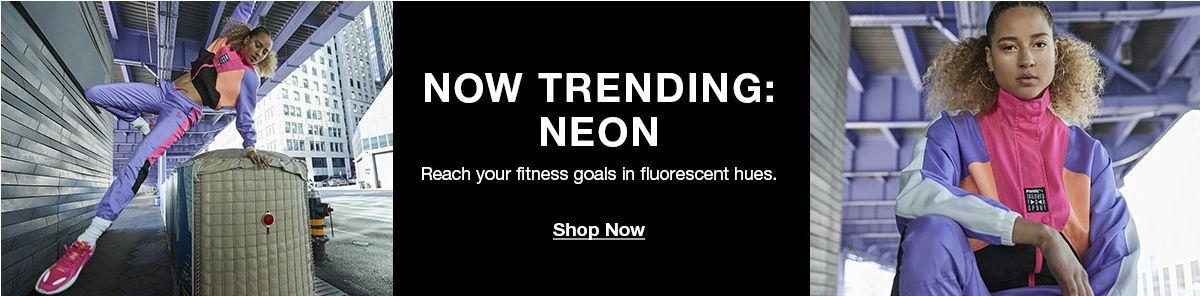 Now Trending: Neon, Shop Now