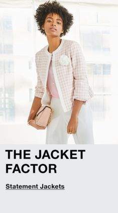 The Jacket Factor, Statement Jackets