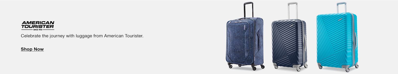 American Tourister, Celebrate the journey with luggage from American Tourister, Shop Now