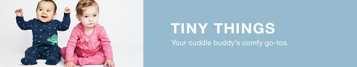 Tiny Things Your cuddle buddy's comfy go-tos