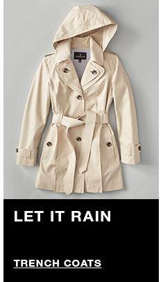 Let it Rain, Trench Coats