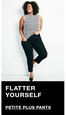 Flatter Yourself, Petite Plus Pants