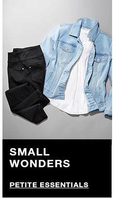 Small Wonders, Petite Essentials