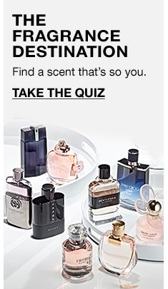 The Fragrance Destination, Find a scent that's so you, Take The Quiz