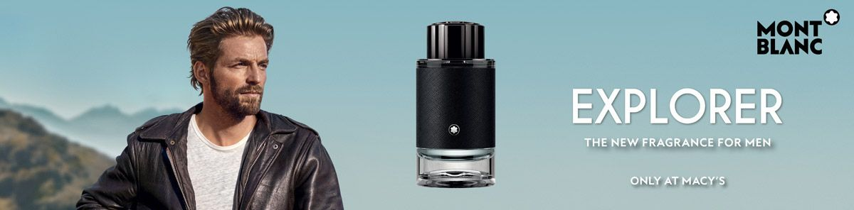 Mont Blanc, Explorer, The New Fragrance For Men, Only at Macy's