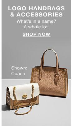 95d92d831218 Logo Handbags and Accessories