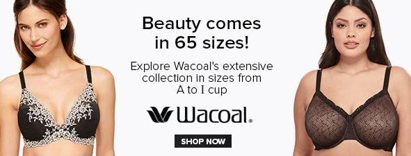 Beauty comes in 65 sizes! Explore Wacoal's extensive collection in sizes from a to I cup, Wacoal, Shop Now