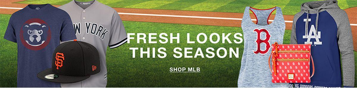 Fresh looks This Season, Shop Mlb