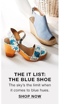 The it List  The Blue Shoe d486ce8dac60