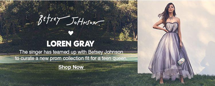 Betset Johnson, Loren Gray, Shop Now