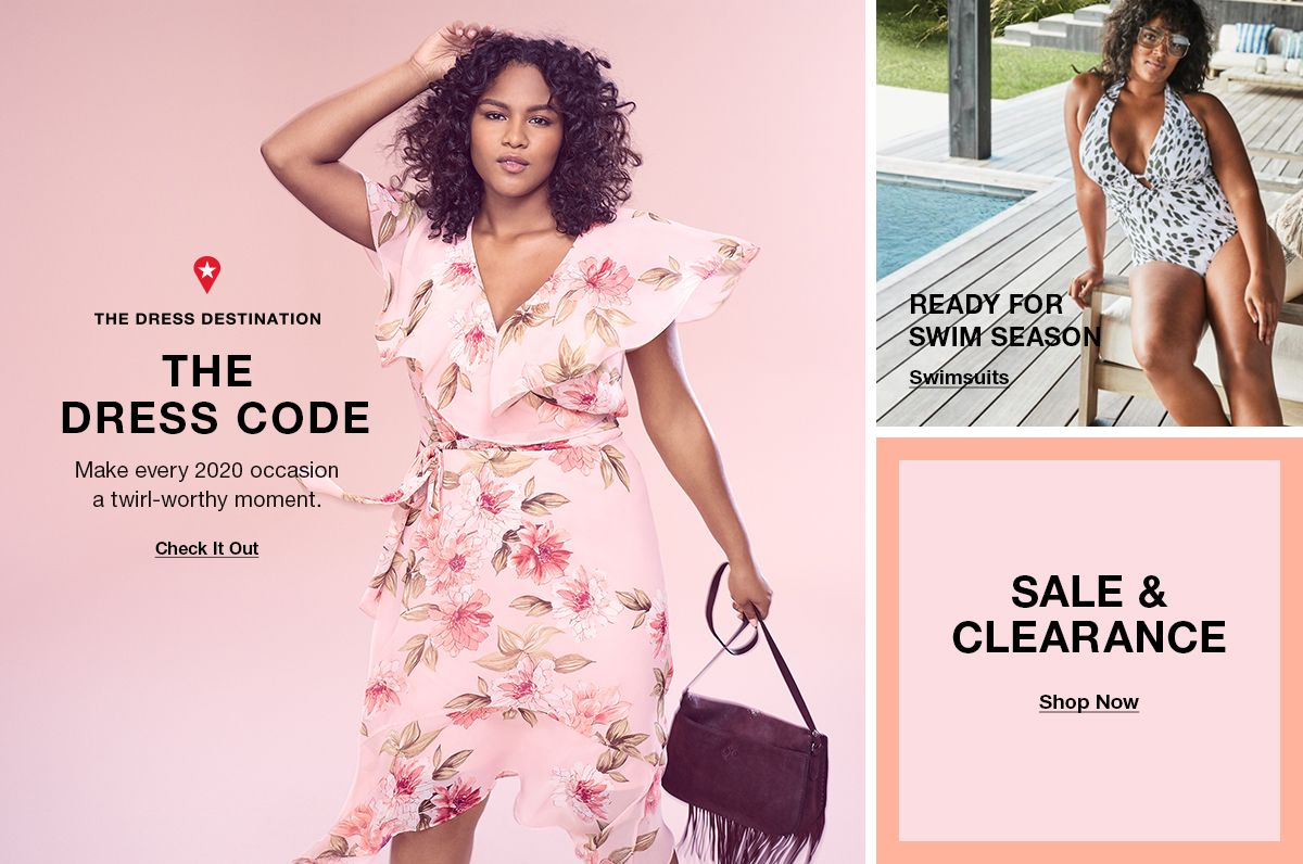 The Dress Destination, The Dress Code, Check it Out, Ready For Swim Season, Swimsuits, Sale and Clearance, Shop Now
