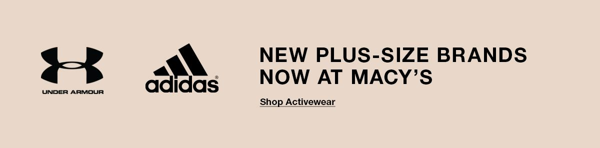 New Plus-Size Brands Now at Macy's, Shop Activewear