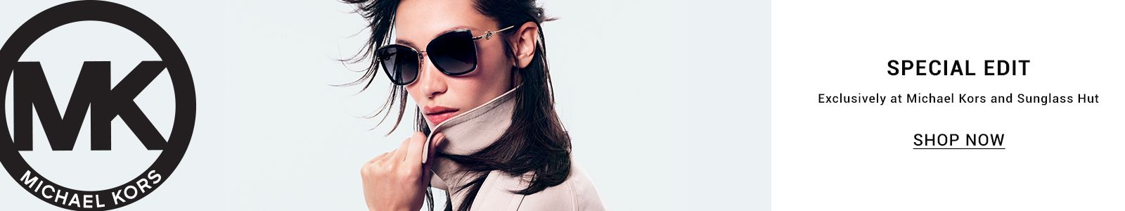 Michael Kors, Special Edit, Exclusively at Michael Kors and Sunglass Hut, Shop Now