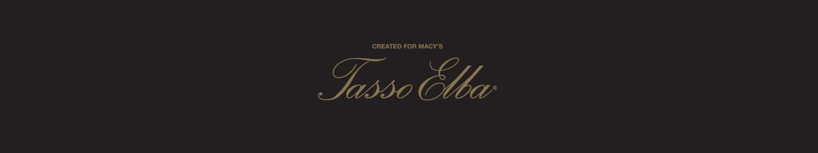 Created for Macy's, Tasso Elba