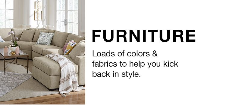 Home Goods Furnishings Furniture Macy S