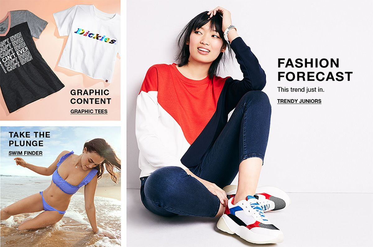 78492b6569bc Juniors Clothing - Macy s