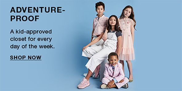 Adventure-Proof, a kid-approved closet for every day of the week, Shop Now