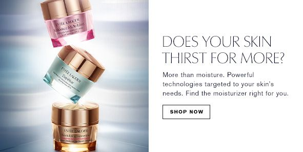 Does Your Skin Thrist For More? Shop Now