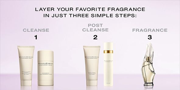Layer Your Favorite Fragrance in Just Three Simple Steps, Cleanse, Post Cleanse, Fragrance