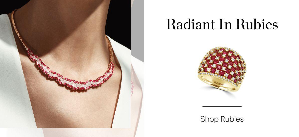 Radiant In Rubies