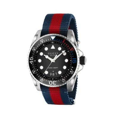 strap watches mens watch dive gucci